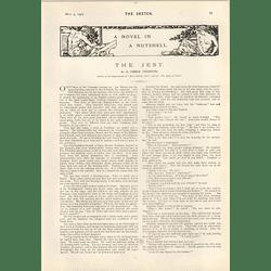 1905 E Temple Thurston Short Story
