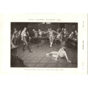 1905 John Lomax Artwork Of The Dual Hs Tuke