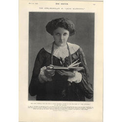 1905 Lena Ashwell Playing The Girl Thief British Destroyer Syren Breaks Back Bere Island