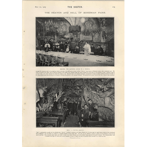 1905 The Heaven And Hell Of Bohemian Paris Montmartre