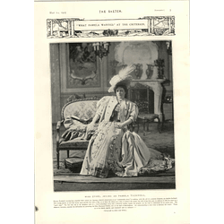 1905 Miss Ethel Irving As Pamela Tuckwell Criterion Theatre