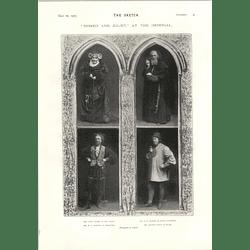 1905 Mr Lewis Waller As Romeo Mary Rorke H V Esmond