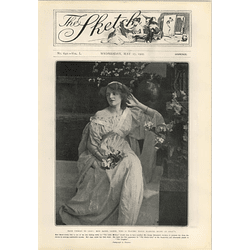 1905 Miss Mabel Green From Chorus To Lead Daly's Theatre