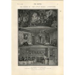 1905 New York Gigantic Hippodrome Little Michu Scenes