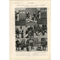 1905 The Production Of Stage Sounds Wind Lightning Galloping Shooting Egerton Castle