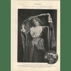1905 Miss Nancy Price Mistress Ford 30,000 Year Clock Hg Strutt
