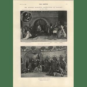 1905 Martin Harvey Production Hamlet At A Lyric Robb Harwood Viola Tree