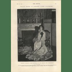 1905 Italian Drama Waldorf Eleonora Duse Herbert Croker Narcotic Poisoning Countess Cassini
