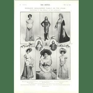 1905 Napoleon Stage Family Characters Creole Haymarket Ada Homer Auriol Lee