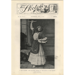 1905 Miss Ellaline Terriss Catch Of The Season Vaudeville