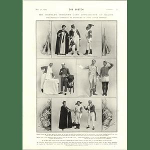 1905 Mr Huntley Wright Last Appearance Daly's John Chilcote Mp