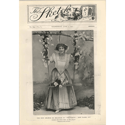 1905 Miss Isabel Jay Singing Swing Song At The Apollo Theatre