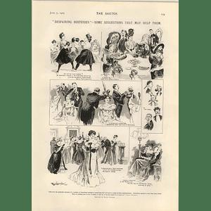 1905 Fatal Accident To Jockey Derby Day Evans Braw Lass Filly Rear Adml Misu