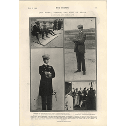 1905 Alfonso Xiii In Private And Public Life