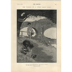1905 Starr Wood Cartoon Private Rendezvous
