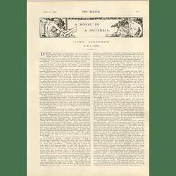 1905 Wl Alden Short Story John Ackerman Rival Caricaturists Hc Sandy