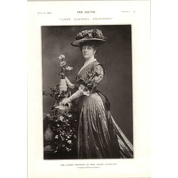 1905 Lady Alethea Frobisher Miss Violet Vanbrugh Mm Leblanc-maeterlinck