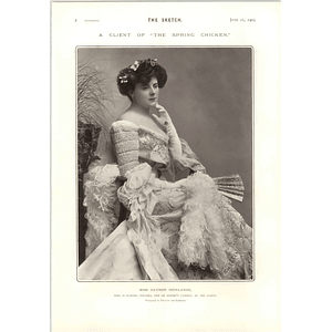 1905 Miss Gaynor Rowlands Playing Silvana Spring Chicken Gaiety