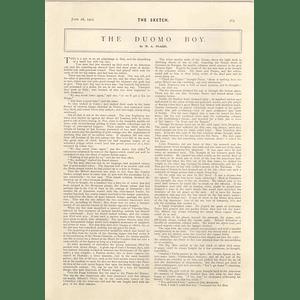 1905 WA Fraser Short Story