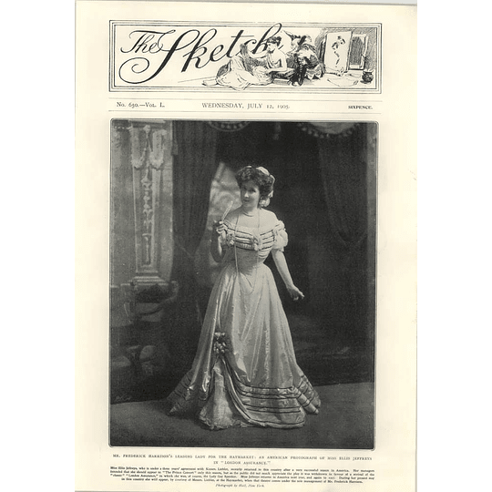 1905 Miss Ellis Jeffreys In London Assurance