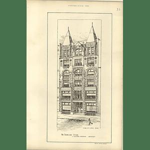 1888, Me Mayall, American Store St Paul Minnesota, Walter Stevens