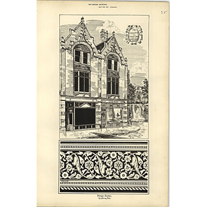 1887, Two Shops In Sidwell Street Exeter, Octavius Rolling