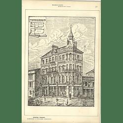 1886, Commercial Premises For J Liscombe, Commercial Street Newport Mon