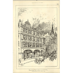 1890, Business Premises 50-52 Ludgate Hill, Beaumont Architects