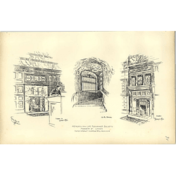 1892, Metropolitan Life Assurance Society Moorgate Street, Office, Staircase,