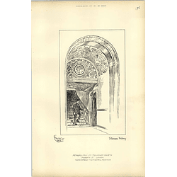 1892, Metropolitan Life Assurance Society Staircase Archway
