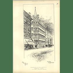 1892, Metropolitan Life Assurance Society, View From Moorgate Street