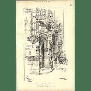 1892 Metropolitan Life Assurance Society, Principal Entrance