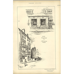 1894, 14 And 16 Hans Road, Sw London Voysey Architect
