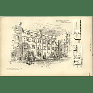 1893, Shaftesbury Chambers, New Lodging House, W Baldwin Architect