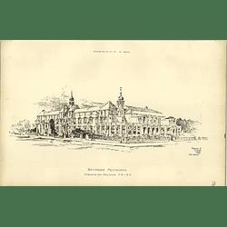 1891, Battersea Polytechnic Designed By J Belcher
