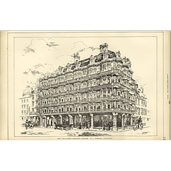 1889, New Buildings In Hanover Square, Rj Worley Architect