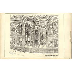 1891, The National Provincial Bank Of England, Manchester Alfred Waterhouse