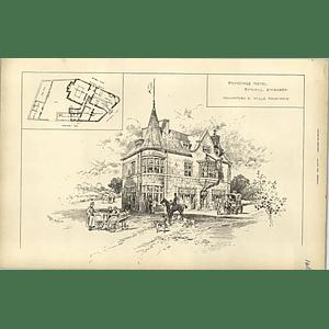 1894, Rhyddings Hotel, Bynmill, Swansea Hannaford Wills Architect