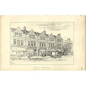 1892, Shops At Wandsworth, Thompson Ive & Crittle, Parkinson And Little
