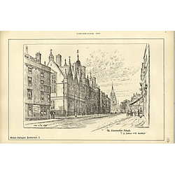 1888, The Examination Schools, Oxford, View In The High, Raffles Davison