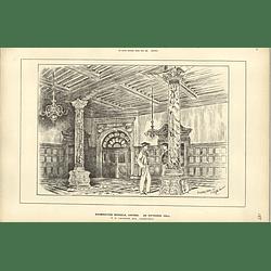 1888, Examination Schools Oxford Entrance Hall Tg Jackson Architect