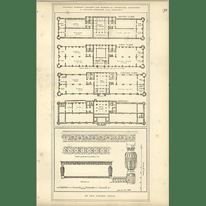 1888, National Portrait Gallery Antiquities Museum Edinburgh Floor Plan R Anders