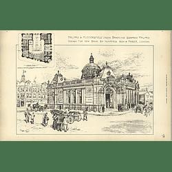 1895, Halifax And Huddersfield Union Banking Company Halifax, Wimperis