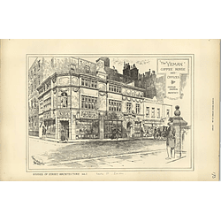 1889, The Yeman Coffeehouse And Offices, Carey Street London, George Sherrin