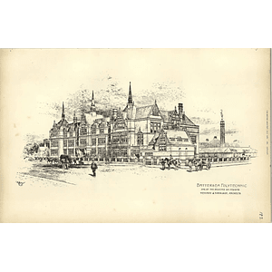 1891, Battersea Polytechnic Selected Designed Henman Harrison