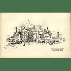 1891, Battersea Polytechnic Selected Designed Henman Harrison