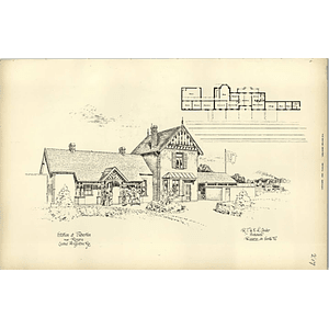 1895, Station At Fisherton, Near Rosario Central Argentina, Conder Santa Fe