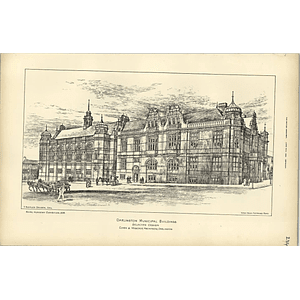 1895, Darlington Municipal Buildings, Clark Moscrop, Raffles Davison