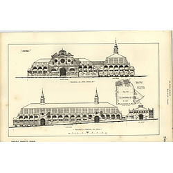 1887, Carlisle Markets Design, Elevations, Herbert Wills