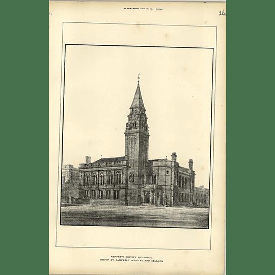 1888, Renfrew County Buildings